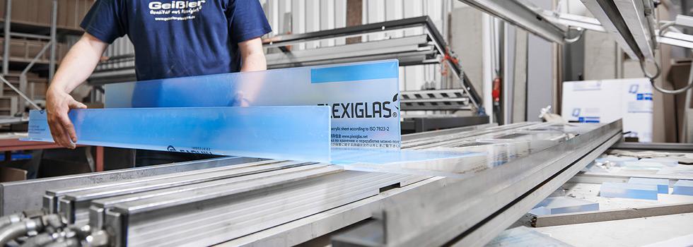 Gut bekannt Abkanten - Geißler Plexiglas SM65